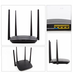 Wi-Fi Router with Motion Detection HD Security Camera