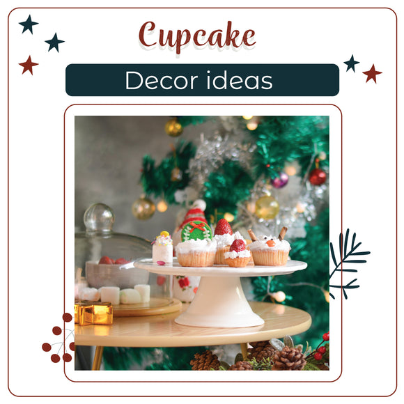 5 Cupcake Decoration Ideas [Christmas Special]