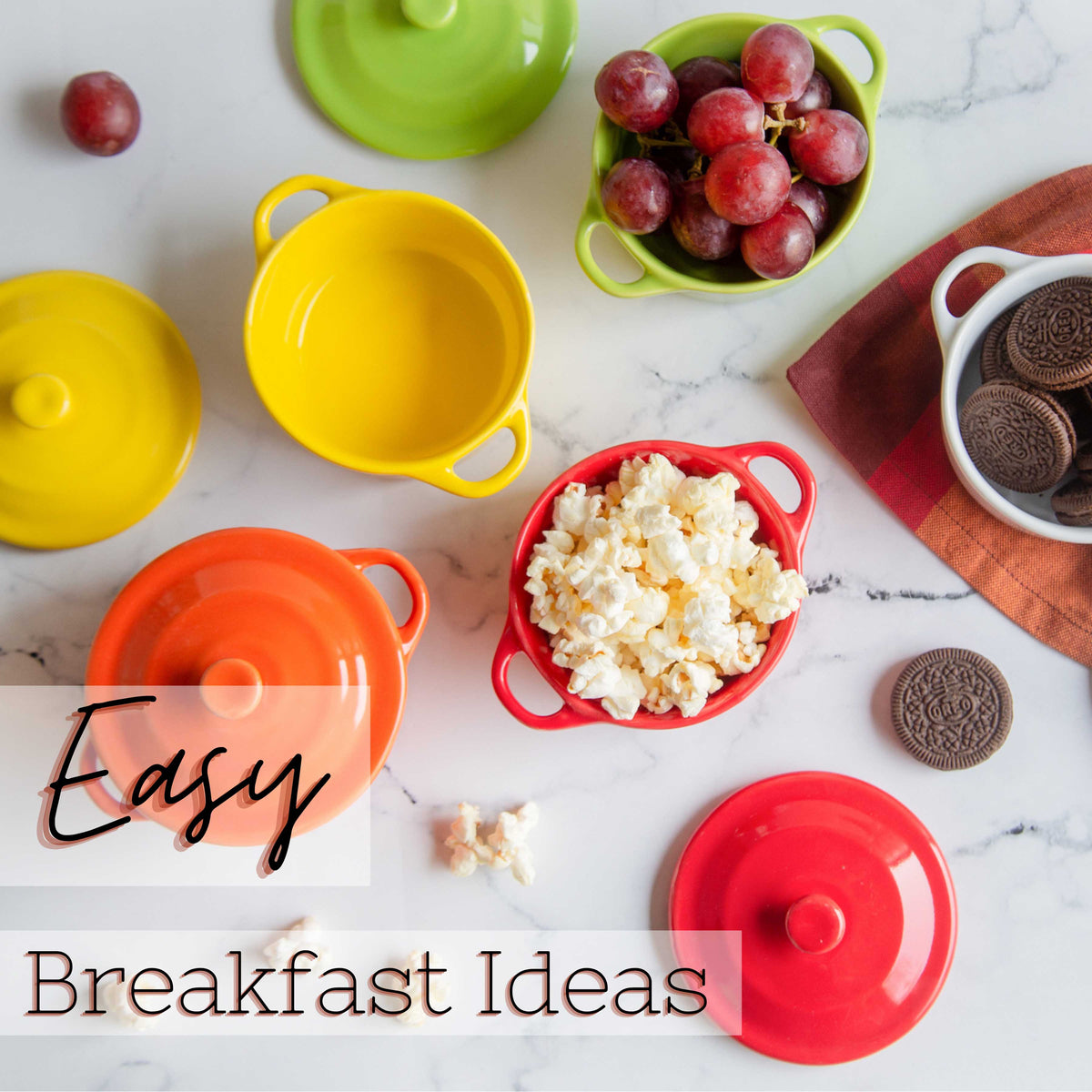 5 breakfast ideas [quick, easy & healthy]
