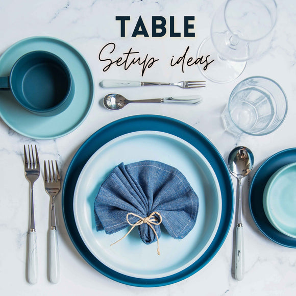 10 table set up ideas