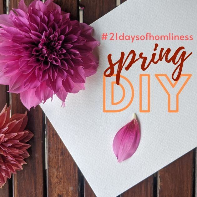 7 Spring Craft DIYs at Home #21DaysofHomeliness