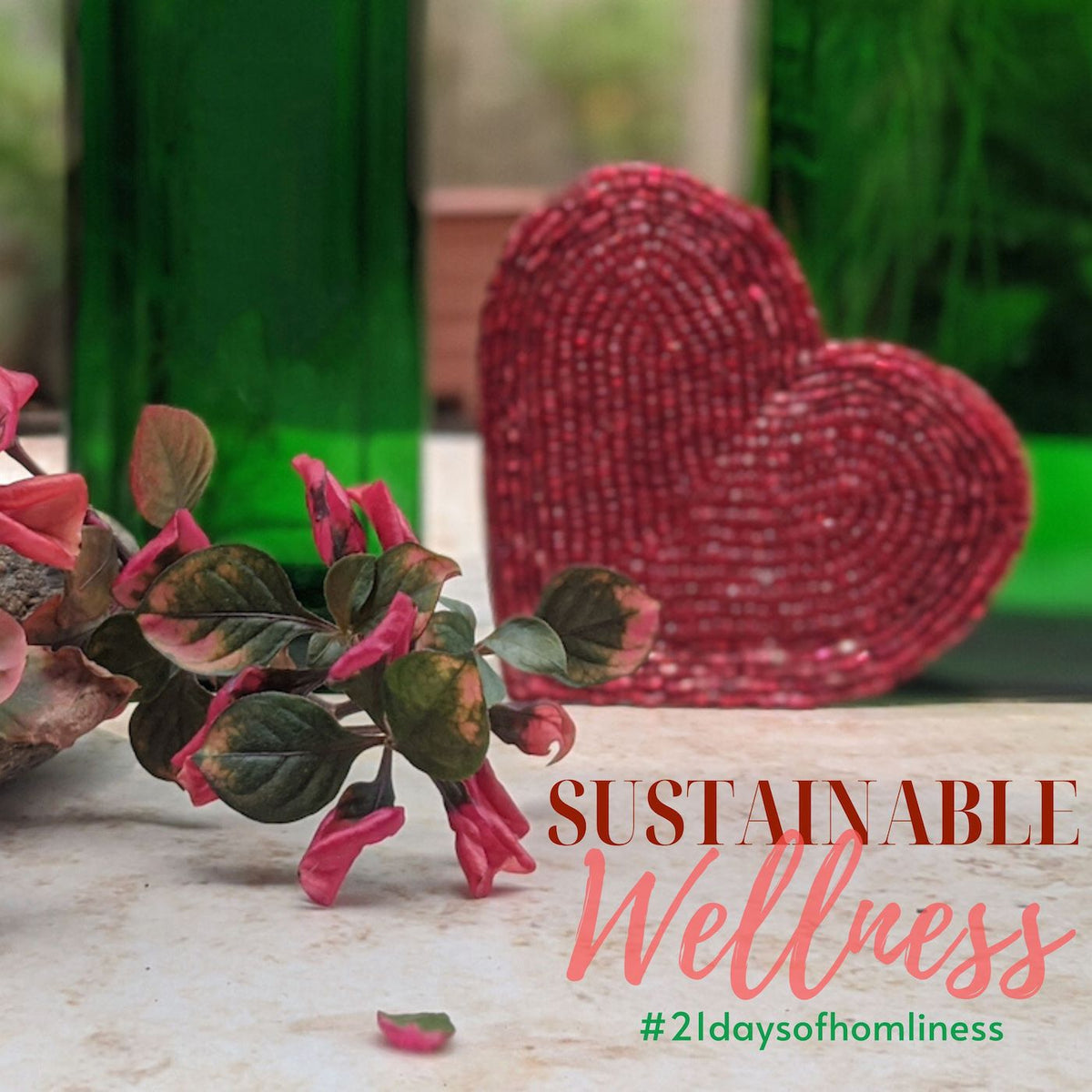Sustainable Wellness at Home #21DaysofHomeliness