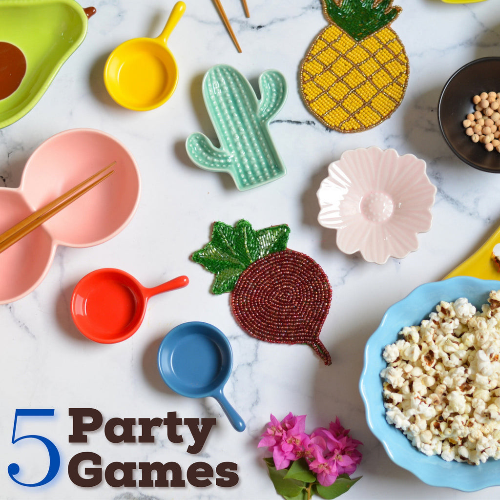 5 Party Games [Indoor game ideas for winter 2020]