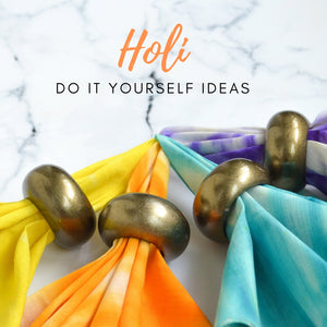 Holi Special Part II: 5 Do It Yourself Ideas