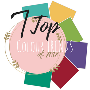 7 Top Colour Trends of 2018
