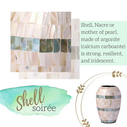 shell mother of pearl home decor products