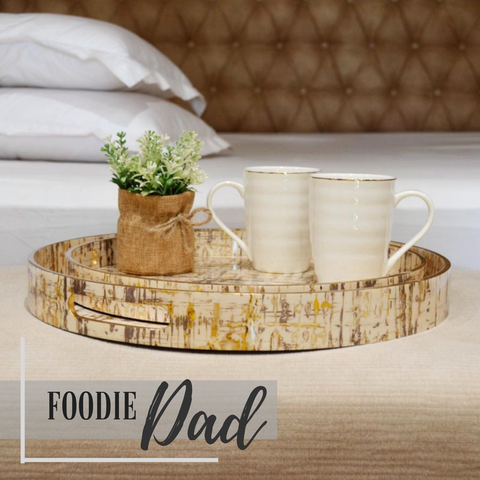 foodie dad breakfast in bed