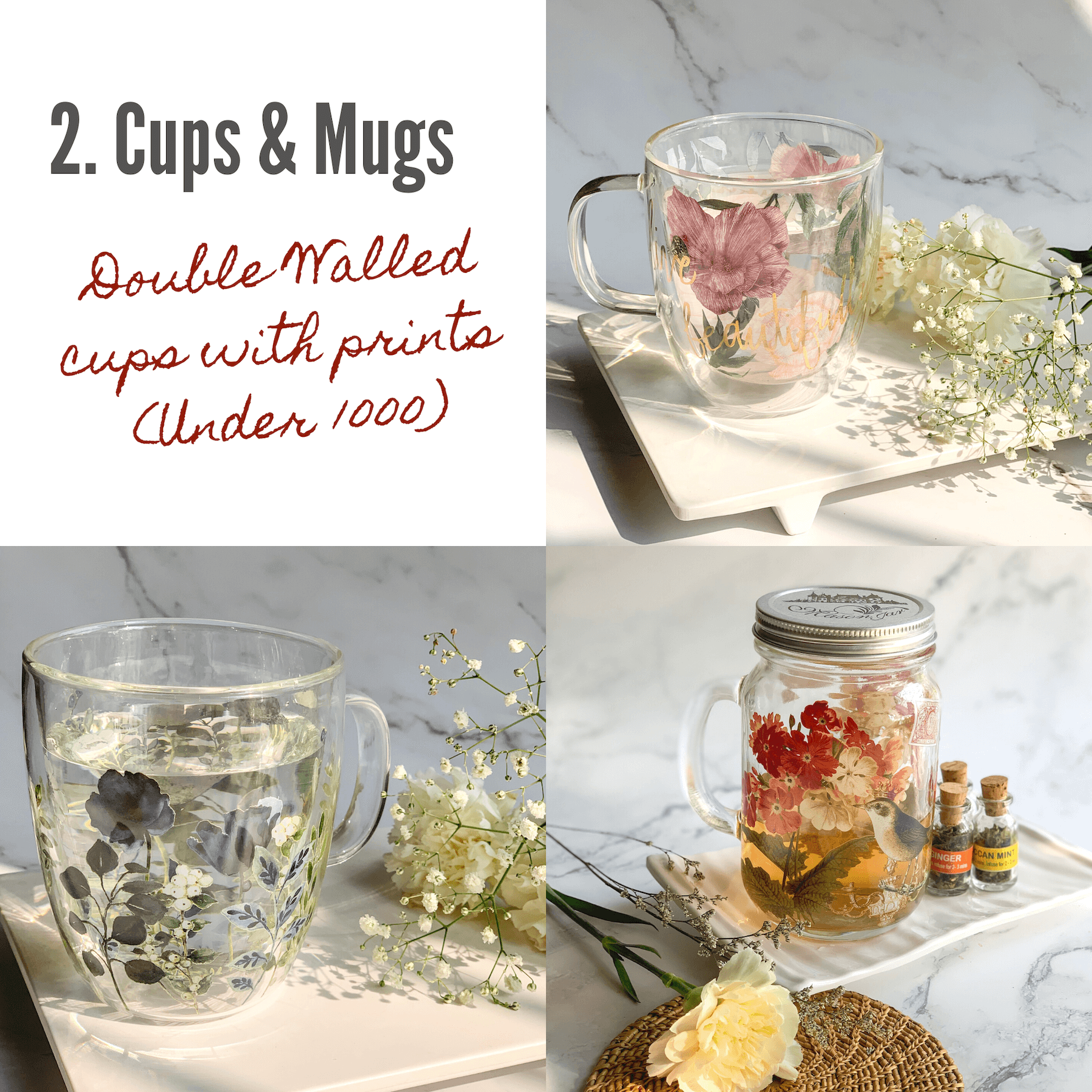 double walled cups and mugs holiday gift guide