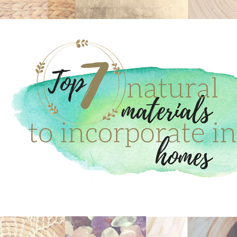 top 7 natural material trends to incorporate in your home