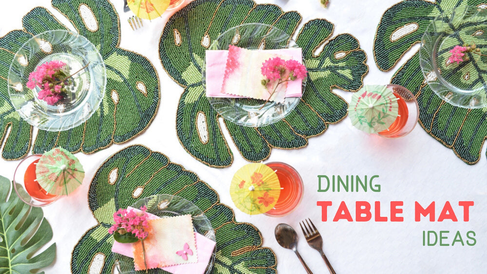 Dining Table mats and coasters