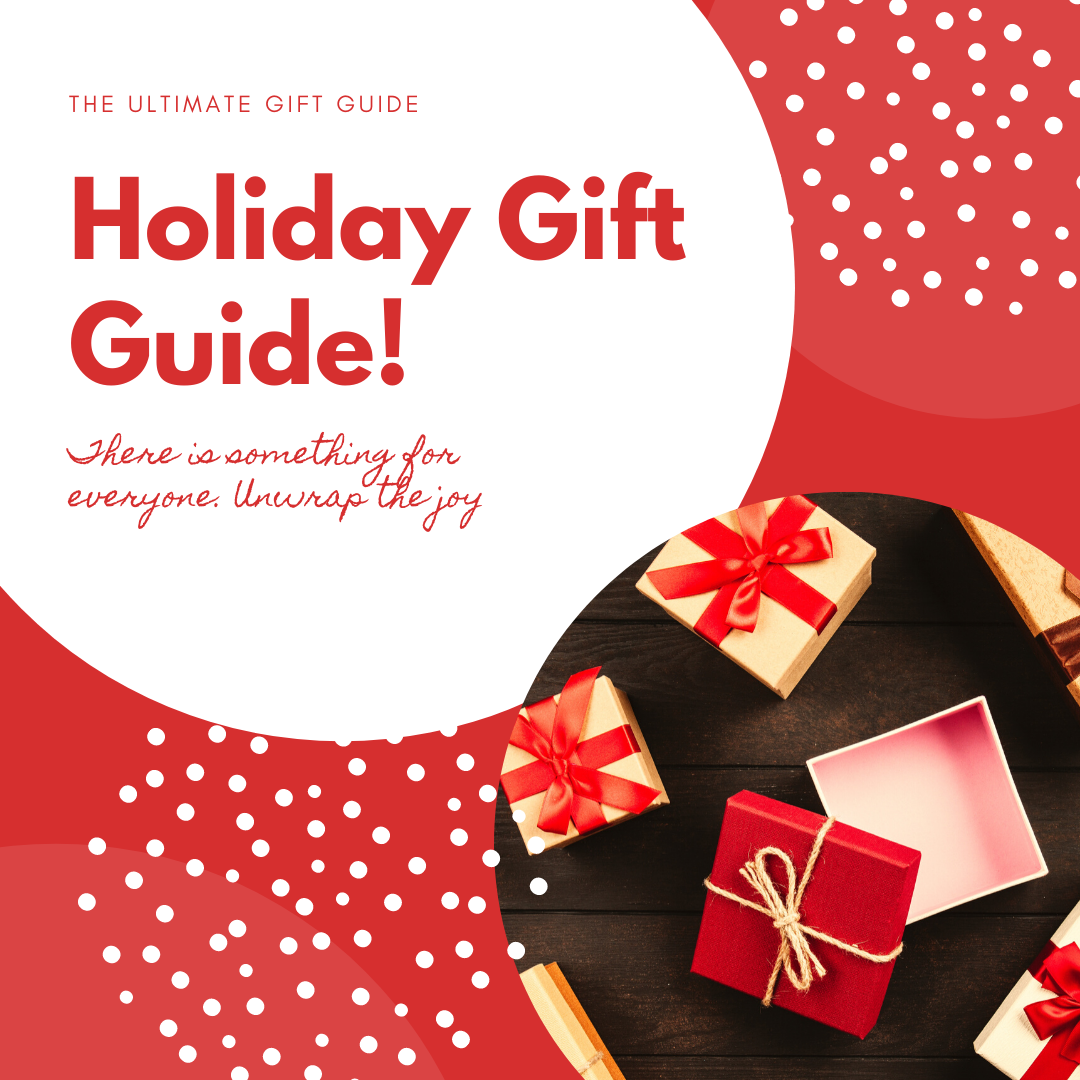 Holiday Gift Guide: 11 gift ideas cover page nestasia