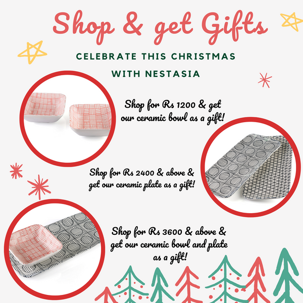Shop & get gifts Christmas campaign