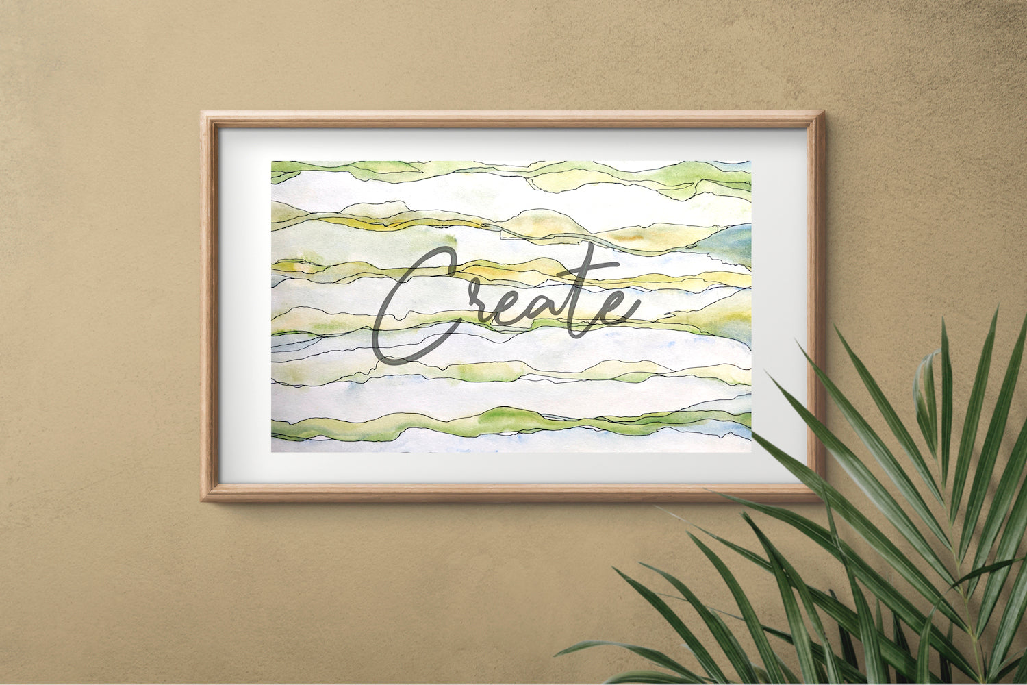 Create framed
