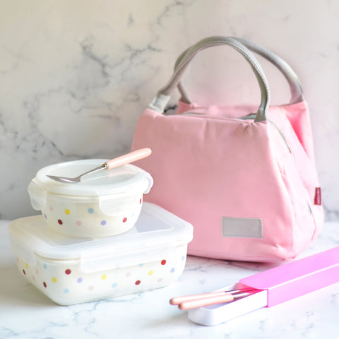 lunch box and bag