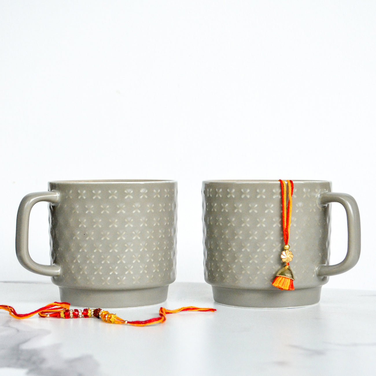 Grey Coffee Mugs