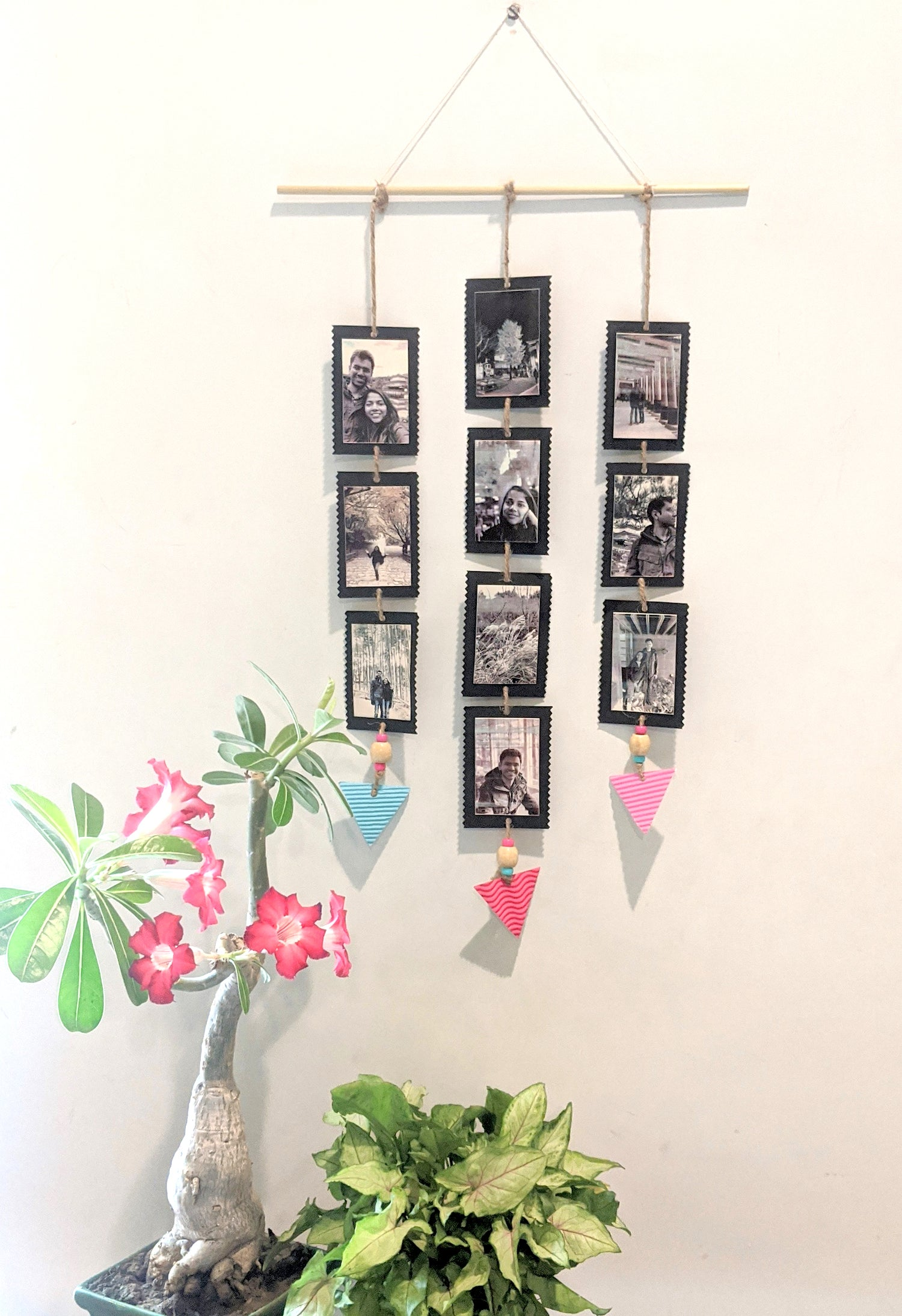 diy photo hanger