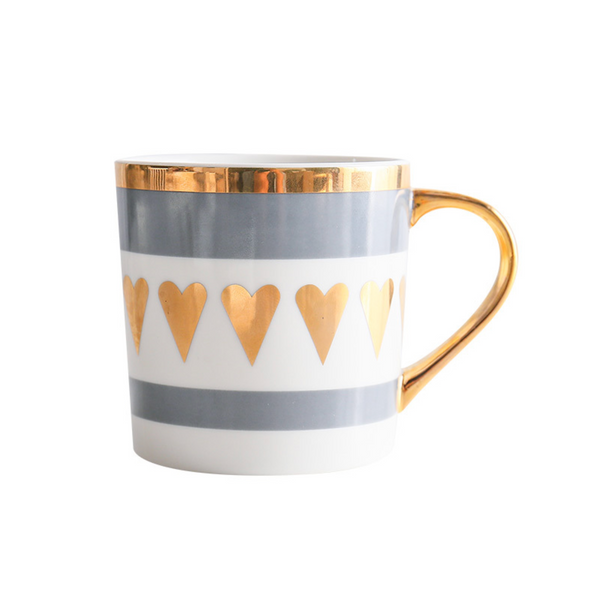 MERRY heart mug - Nestasia Home Decor