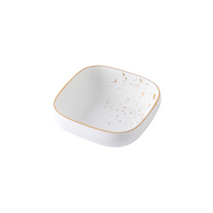 CARA square bowl - classic white - Nestasia Home Decor