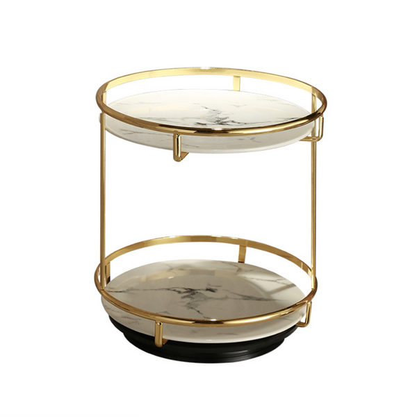 Two Tier Turntable Organiser