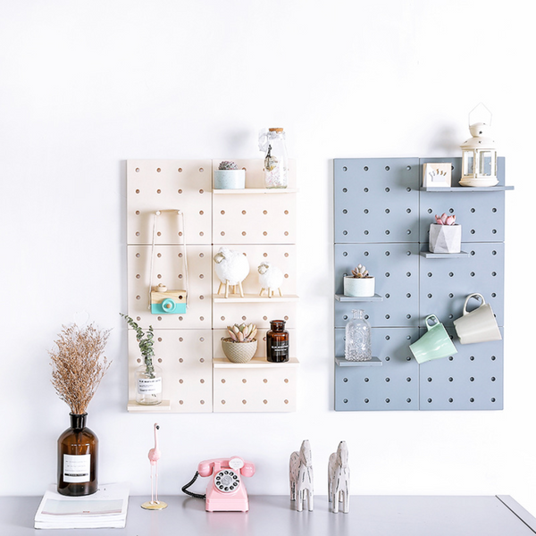 DIY Fibre Peg Board - Blue - Nestasia Home Decor