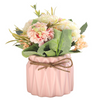 FLORA Vase with Flowers - Pink - Nestasia Home Decor