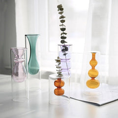 Glass Vase Brown