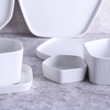 Pentagon White Snack Bowl