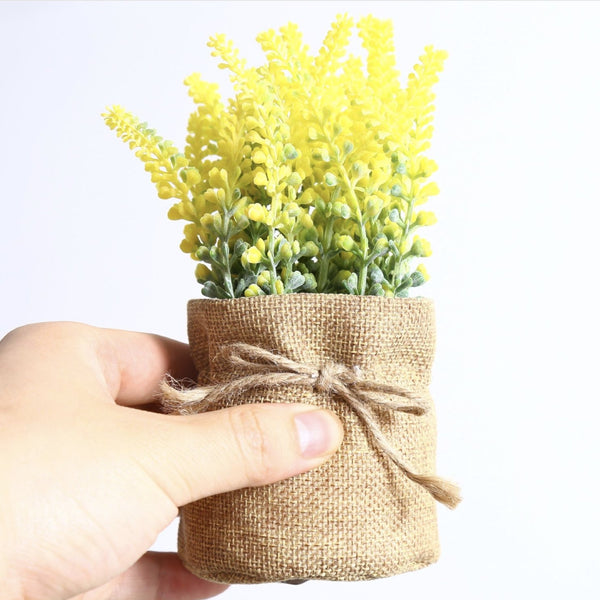 Artificial Plant Yellow