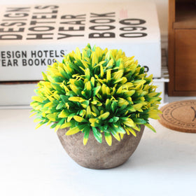 Artificial Plant Yellow Green