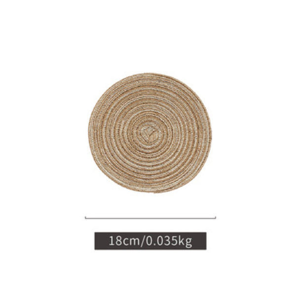 Beige Table Mat Set