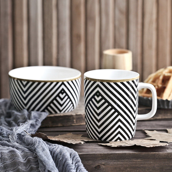 Black and White Mug