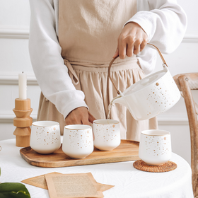 CARA White Tea set