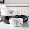 CHICERAMIC marble bowl - white