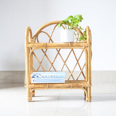 Cane Table Shelf