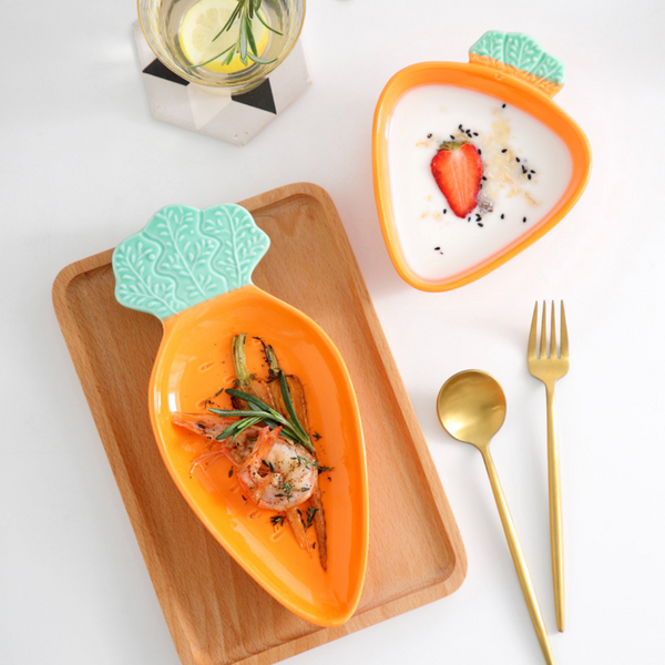 Carrot Plate