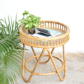 Cane Coffee Table