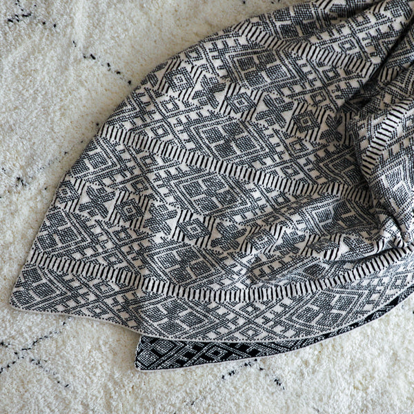 Cotton Throw Patterned