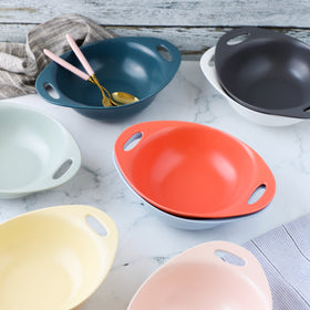 Baking Bowl With Handles Large