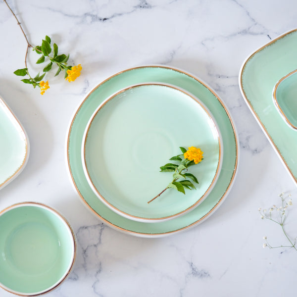 Snack Plate Mint
