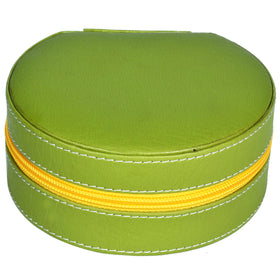 GLAM Round Zip Case Organiser - green yellow
