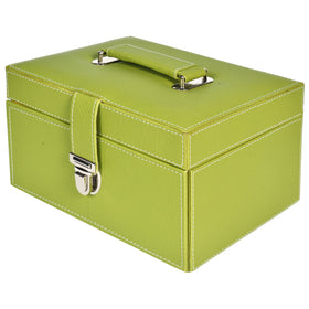 GLAM Organiser storage box - green yellow kit