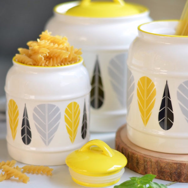 Airtight Jars Yellow