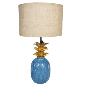Wooden Pineapple Lamp