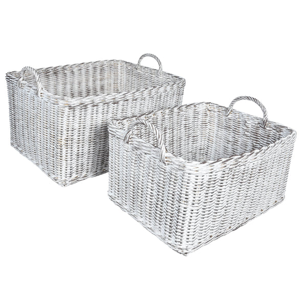 MOD Grey Basket- Set of 2