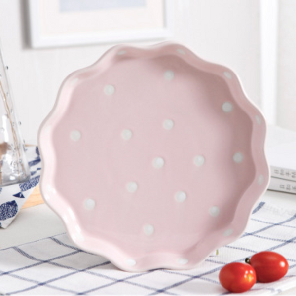 Dots Plate Pink