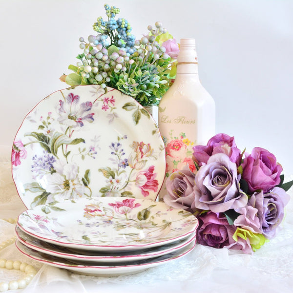 GISELLE Salad Plate Set - Nestasia Home Decor