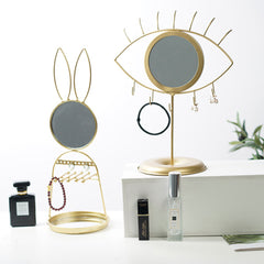 Rabbit Jewellery Mirror