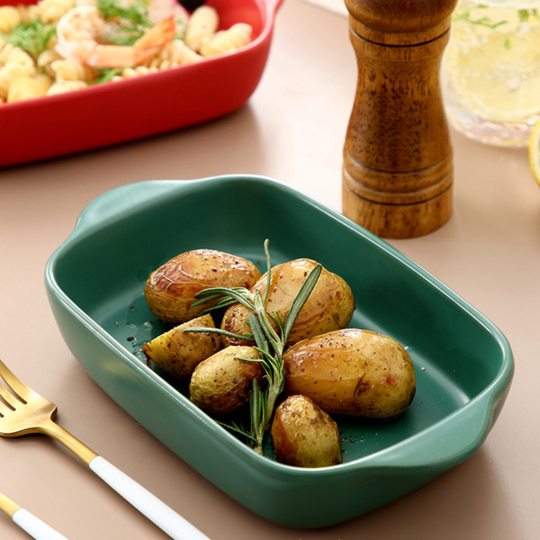 Green Baking Dish