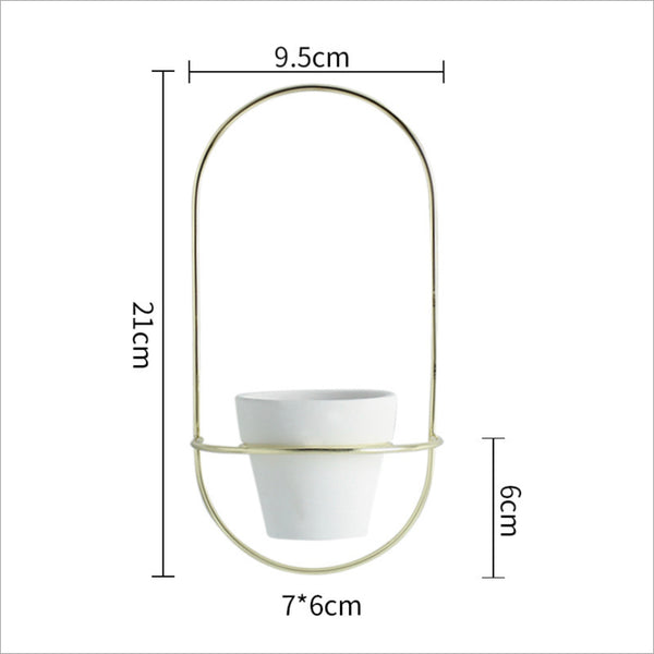 Hanging Planter White