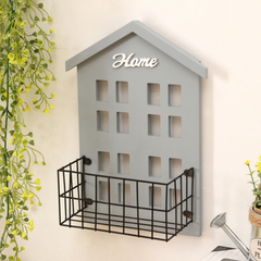 Grey House Wall Rack